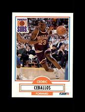 1990-91 Fleer Update Basketball #U-75 Cedric Ceballos (Suns) NM-MT