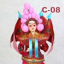 C-08 China Peking Oper chinesisch Puppe Figur Seide 31 cm Neu Geschenkidee OVP
