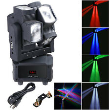 8x10W 4in1 Double Wheel LED Moving Head Light RGBW DMX Stage Bar KTV Disco Party