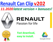 Renault Can Clip v202 curent version 11.2020 + bonuses!