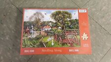 House of puzzles 500 large piece jigsaw puzzle STROLLING ALONG