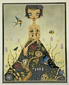 Caia Koopman Lady Ninsar Art Print Framed Pop Surreal Design Female Woman Nature