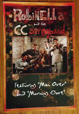 Robinella and the Ccstringband 12x18 promo poster flat bluegrass Knoxville