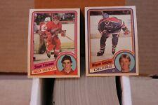 1984-85 Topps Hockey complete set (1-165) - Steve Yzerman Rookie