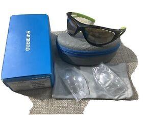 Shimano Cycling Sun glasses CE-S50X Black Green $70