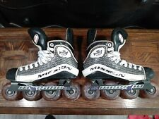 Mission Wicked Light Inline/Roller Hockey Skates Size 8.5 D Very Rare!