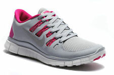 NIKE WOMEN'S FREE 5.0+ SHOES SIZE 6.5 grey pink white 580591 061