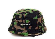 WWII German M35 Helmet Cover Plane Tree Color Reversible