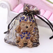 25/50/100 Wedding Party Candy Organza Drawstring Favour Gift Mini Bags Pouches