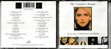 BLONDIE / THE COMPLETE PICTURE (Greatest Hits) 1991 CD ALBUM (Deborah Harry)