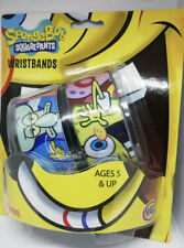 Nickelodeon Spongebob Squarepants Wristbands. pack of 2 Ages 5+ NEW SEALED