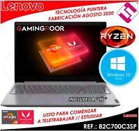 PORTATIL LENOVO V15 ADA RYZEN 3 3250U 15.6 8GB 256GB SSD WINDOWS 10 TELETRABAJO