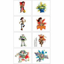 Toy Story Temporary Tattoos Birthday Party Favors Supply ~ Woody, Buzz Lightyear