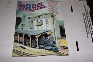 MODEL RAILROADING MAGAZINE  05-06/1985 GOOD SHAPE