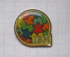 IBM/rompecabezas... equipo pin (102d)