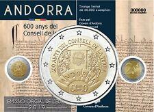 Andorra 2 Euro 2019 Generalrat der Täler