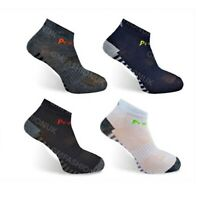 3 Pairs Mens Sports Trainer Socks Trainer Boot Ankle Footwear Gym Yoga Running