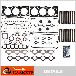 Fits 02-06 Hyundai XG350 Santa Fe Kia Amanti 3.5 DOHC Head Gasket Set Bolts G6CU