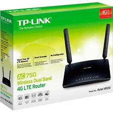 New TP-Link Archer MR200 Dual Band AC750 Wireless 4G LTE 3G WiFi Modem Router