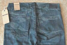 TRUE RELIGION GENO TIGER CAMO Jeans 33X33 NWT$228 RELAXED SLIM-Stretch-USA