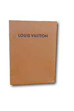 "Authentic Louis Vuitton Small Envelope Gift Paper Bag 9"" x 6.5"" x 1"""