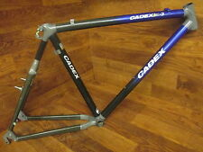 RARE ORIGINAL VINTAGE GIANT CADEX 3 CARBON KEVLAR MTB FRAME SET 19""