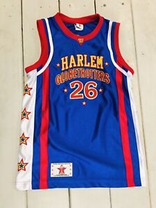 HARLEM GLOBETROTTERS Youth HI-LITE #26 Size Small Jersey EXCELLENT SEWN
