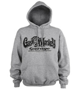 Officially Licensed Gas Monkey Garage Logo Hoodie S-XXL Sizes