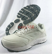 NEW Brooks Dyad Sz 10 D Wide WMNS white Leather Walking 42 NB 928 Running 10D