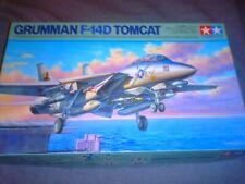 TAMIYA 1/48 SCALE MODERN US NAVY GRUMMAN F-14D TOMCAT FIGHTER ATTACKER K/N 61118