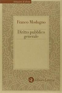 Diritto pubblico generale - Modugno Franco