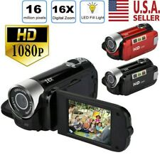 1080P HD Camcorder Digital Video Camera 16MP TFT LCD 16x Zoom DV AV
