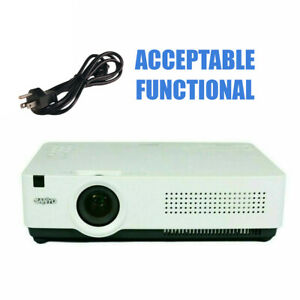 Sanyo PLC-XU300 3LCD Projector - Acceptable Functional w/Power Cable
