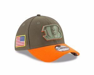 Cincinnati Bengals New Era 2017 Salute To Service 39THIRTY Flex Hat – Olive