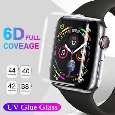 For Apple Watch Series 5 4 3 2 UV Liquid Tempered Glass Screen Protector 42/44mm