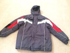 Boys size 18 XL Extreme Limit Halfpipe Snowboard Jacket & Vest winter Coat Gray