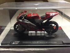 "DIE CAST SUPERBIKES  "" YAMAHA YZR-M1 MARCO MELANDRI 2004 ""  SCALA 1/24"