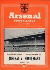 Sunderland Championship Home Teams S-Z Football Programmes