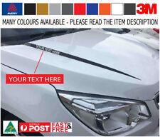 Holden Colorado ESM Bonnet Swage LT-Z Decal Sticker Kit Avery Wrap Matte Black