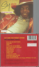CD-SLY AND THE FAMILY STONE  ON THE RIGHT TRACK