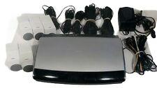 Bose Lifestyle AV28 Media Center 5 White Jewel Cube Speakers Cables Cords