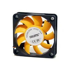 PC Computer Case Cooling Fan Cooler 3-4Pin Silent 60mm 60x60x15mm Quiet