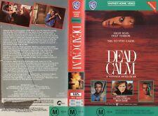 DEAD CALM - Nicole Kidman - VHS - PAL -NEW - Never played! - Original Oz release