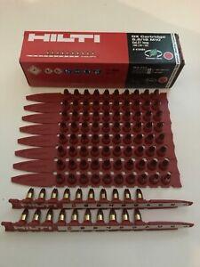 Genuine Hilti DX RED Cartridges 10 x 10 CAL. 6.8/18M 10 Pack 1 Box