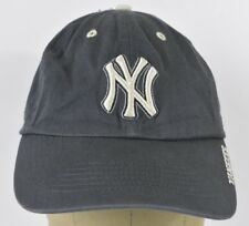 Navy Blue NY New York Yankees Logo Embroidered Baseball Hat Cap Adjustable Strap