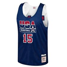 Mitchell & Ness 1992 Dream Team USA Reversible Practice Jersey Magic Johnson #15