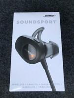 NEW* BOSE SOUNDSPORT WIRELESS IN-EAR HEADPHONE BLACK 761529-0010