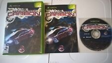Need For Speed Carbon Original Xbox Video Game Complete Manual GC PAL