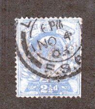 Great Britain Scott 131 - King Edward Vii 2 1/2 Penny. Used. #02 Gb131