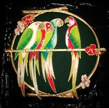 LE 250 Enchanted Tiki Room Parrots WDW Florida Project Adventureland Disney Pin